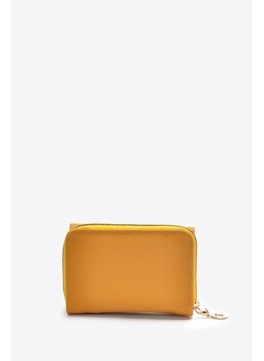 Vizon Ayakkabı Cüzdan Sarı